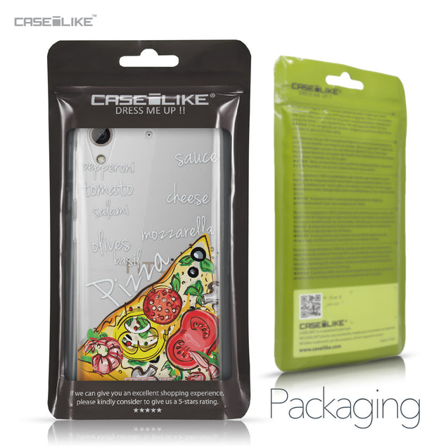 HTC Desire 626 case Pizza 4822 Retail Packaging | CASEiLIKE.com