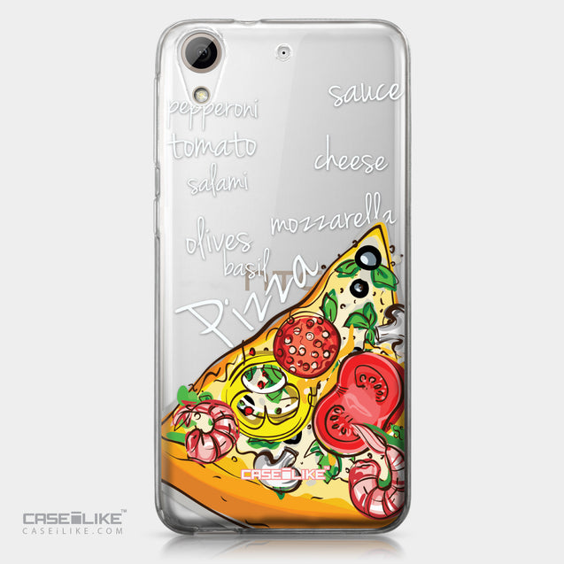 HTC Desire 626 case Pizza 4822 | CASEiLIKE.com