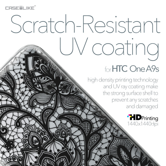 HTC One A9s case Lace 2037 with UV-Coating Scratch-Resistant Case | CASEiLIKE.com