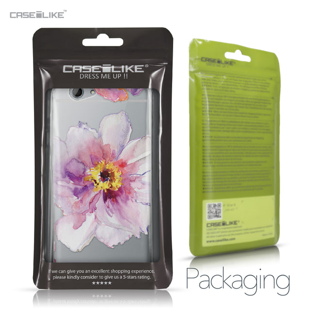 HTC One A9s case Watercolor Floral 2231 Retail Packaging | CASEiLIKE.com