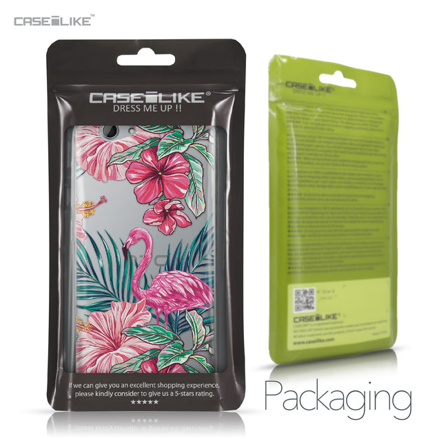HTC One A9s case Tropical Flamingo 2239 Retail Packaging | CASEiLIKE.com