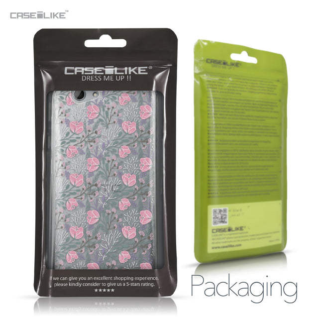 HTC One A9s case Flowers Herbs 2246 Retail Packaging | CASEiLIKE.com