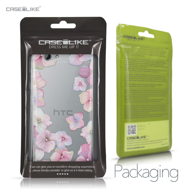 HTC One A9s case Hydrangea 2257 Retail Packaging | CASEiLIKE.com