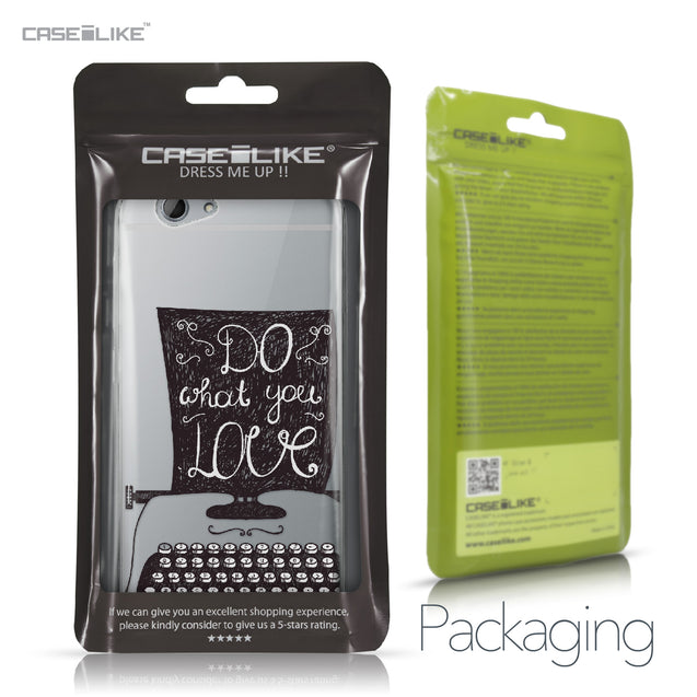 HTC One A9s case Quote 2400 Retail Packaging | CASEiLIKE.com