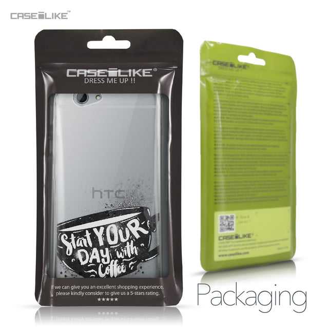 HTC One A9s case Quote 2402 Retail Packaging | CASEiLIKE.com