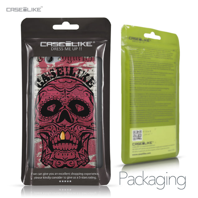 HTC One A9s case Art of Skull 2523 Retail Packaging | CASEiLIKE.com