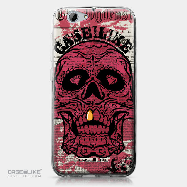 HTC One A9s case Art of Skull 2523 | CASEiLIKE.com