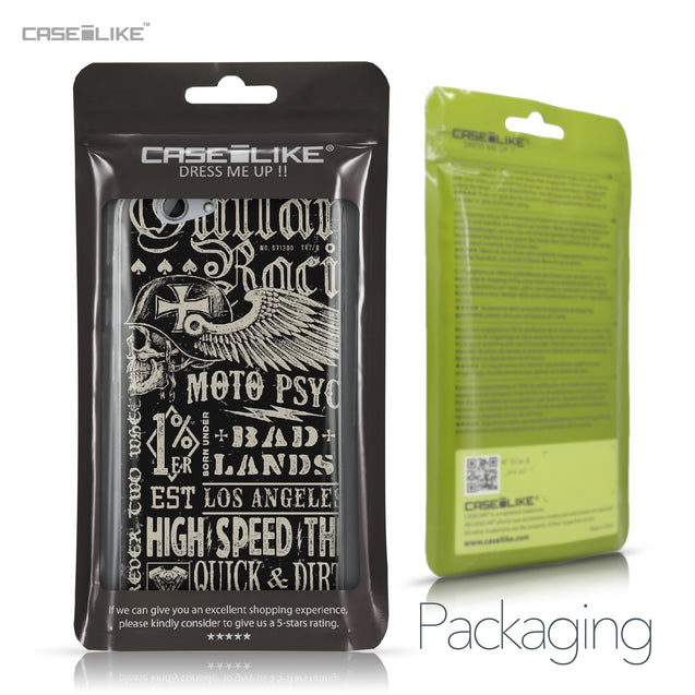 HTC One A9s case Art of Skull 2531 Retail Packaging | CASEiLIKE.com