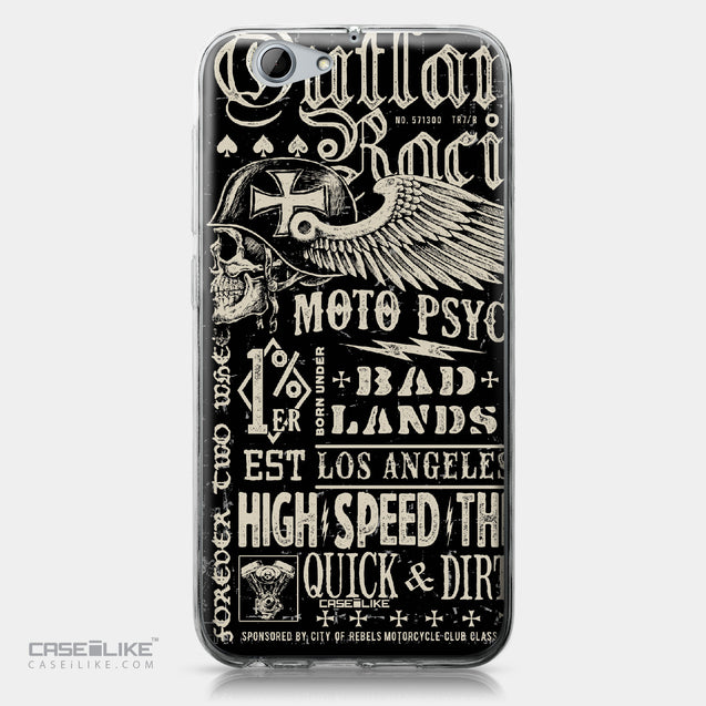 HTC One A9s case Art of Skull 2531 | CASEiLIKE.com