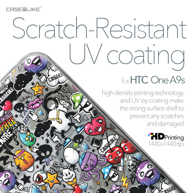HTC One A9s case Graffiti 2703 with UV-Coating Scratch-Resistant Case | CASEiLIKE.com