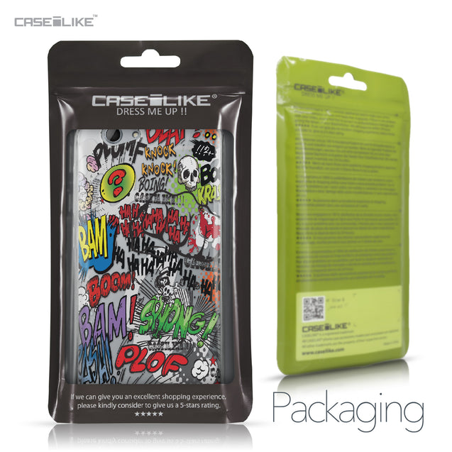 HTC One A9s case Comic Captions 2914 Retail Packaging | CASEiLIKE.com