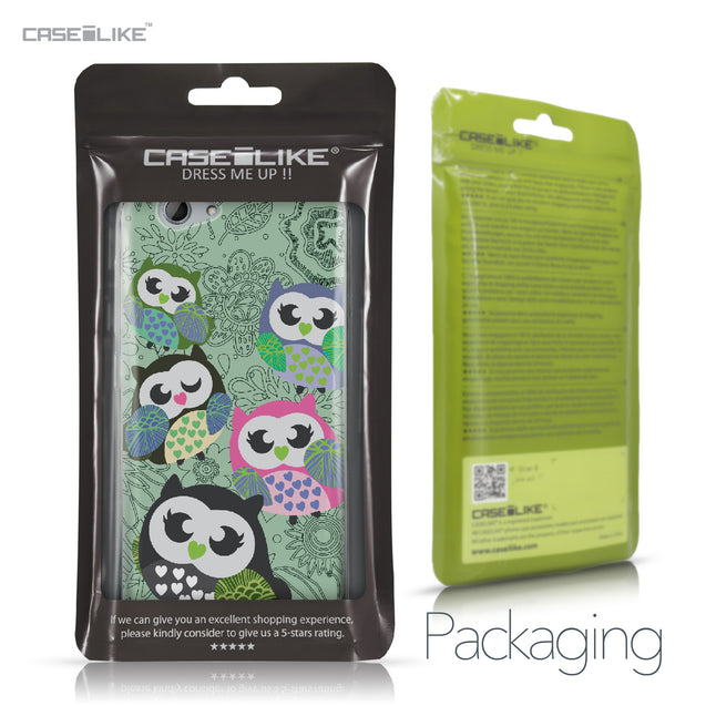 HTC One A9s case Owl Graphic Design 3313 Retail Packaging | CASEiLIKE.com