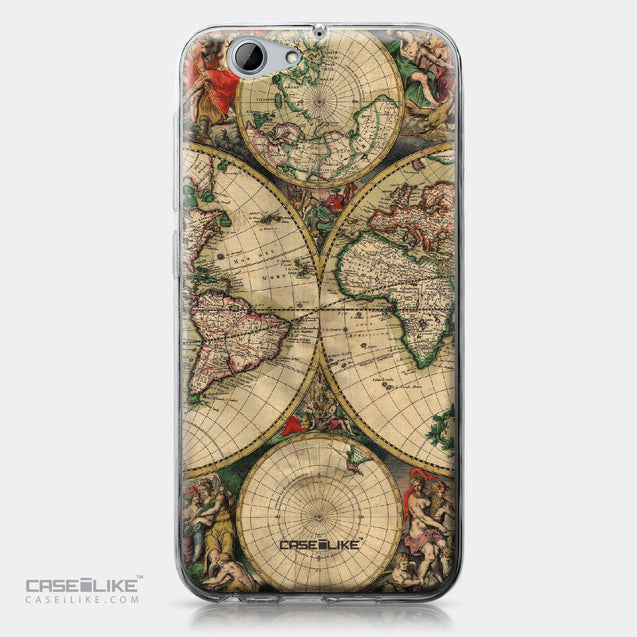 HTC One A9s case World Map Vintage 4607 | CASEiLIKE.com