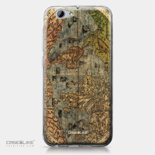 HTC One A9s case World Map Vintage 4608 | CASEiLIKE.com