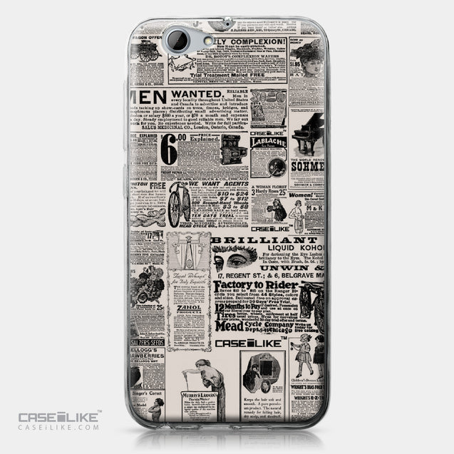 HTC One A9s case Vintage Newspaper Advertising 4818 | CASEiLIKE.com
