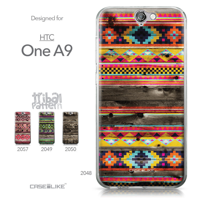 HTC One A9 case Indian Tribal Theme Pattern 2048 Collection | CASEiLIKE.com