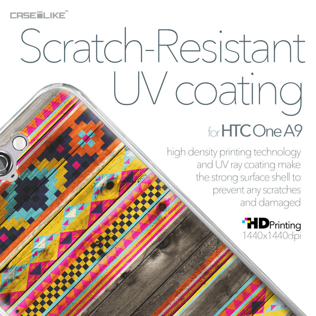 HTC One A9 case Indian Tribal Theme Pattern 2048 with UV-Coating Scratch-Resistant Case | CASEiLIKE.com