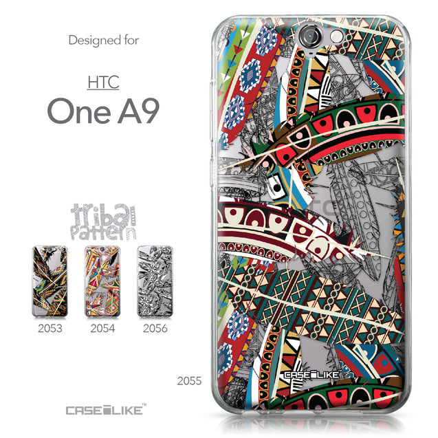 HTC One A9 case Indian Tribal Theme Pattern 2055 Collection | CASEiLIKE.com