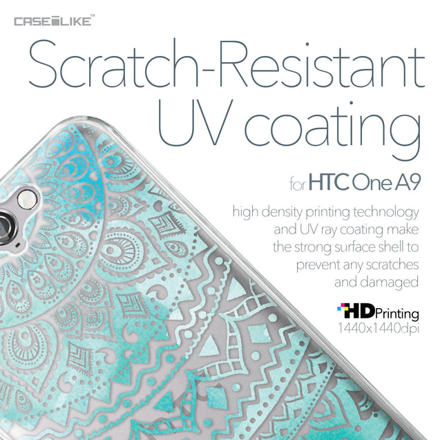 HTC One A9 case Indian Line Art 2066 with UV-Coating Scratch-Resistant Case | CASEiLIKE.com