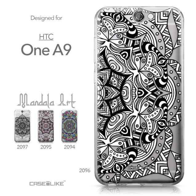 HTC One A9 case Mandala Art 2096 Collection | CASEiLIKE.com