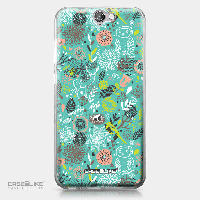 HTC One A9 case Spring Forest Turquoise 2245 | CASEiLIKE.com