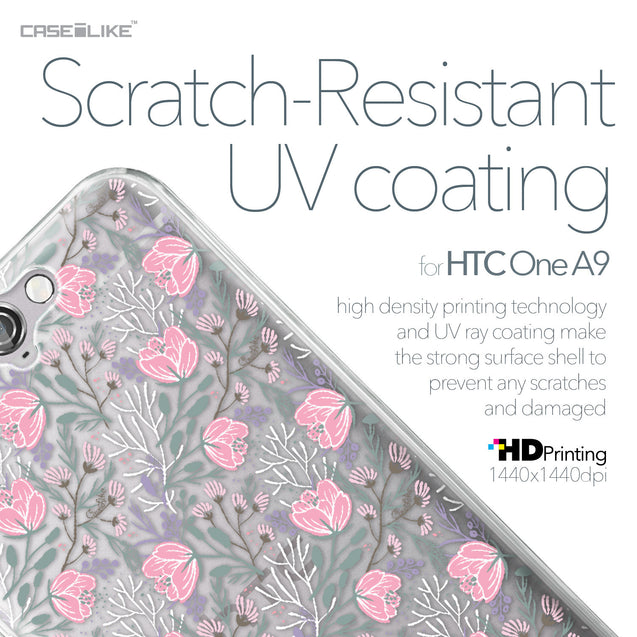 HTC One A9 case Flowers Herbs 2246 with UV-Coating Scratch-Resistant Case | CASEiLIKE.com