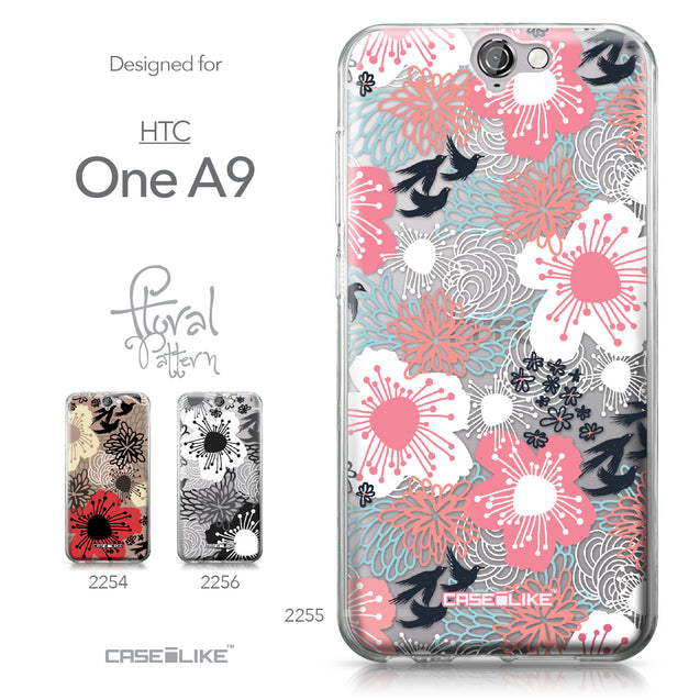 HTC One A9 case Japanese Floral 2255 Collection | CASEiLIKE.com