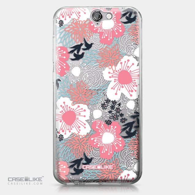 HTC One A9 case Japanese Floral 2255 | CASEiLIKE.com