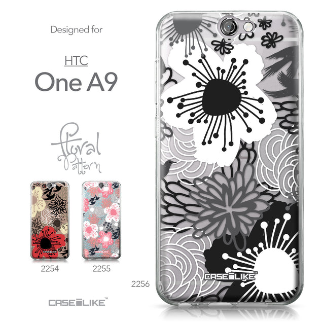 HTC One A9 case Japanese Floral 2256 Collection | CASEiLIKE.com
