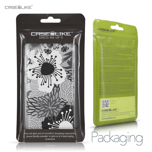 HTC One A9 case Japanese Floral 2256 Retail Packaging | CASEiLIKE.com