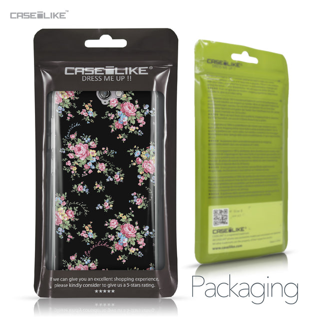 HTC One A9 case Floral Rose Classic 2261 Retail Packaging | CASEiLIKE.com