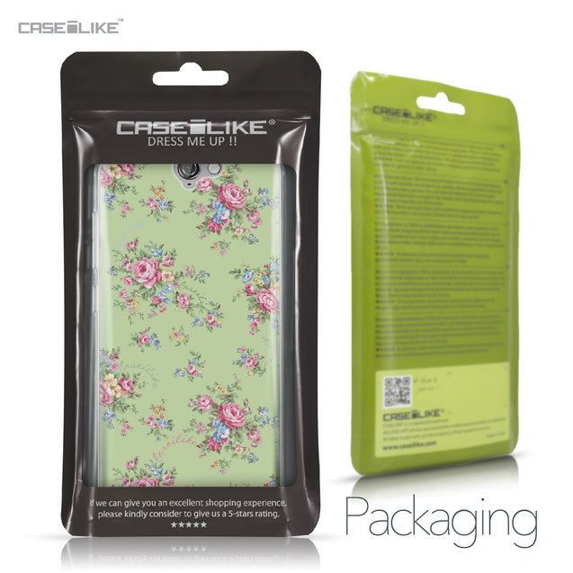 HTC One A9 case Floral Rose Classic 2262 Retail Packaging | CASEiLIKE.com