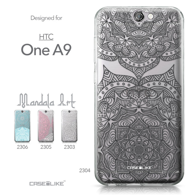 HTC One A9 case Mandala Art 2304 Collection | CASEiLIKE.com