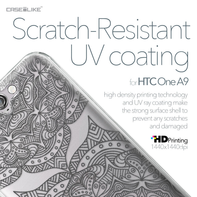 HTC One A9 case Mandala Art 2304 with UV-Coating Scratch-Resistant Case | CASEiLIKE.com