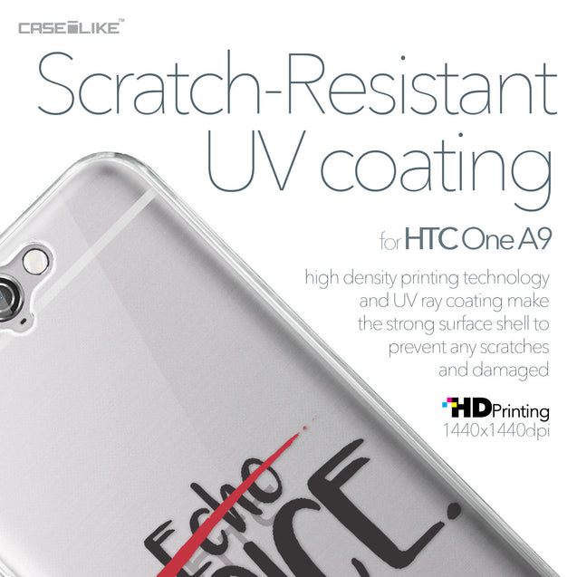 HTC One A9 case Quote 2405 with UV-Coating Scratch-Resistant Case | CASEiLIKE.com