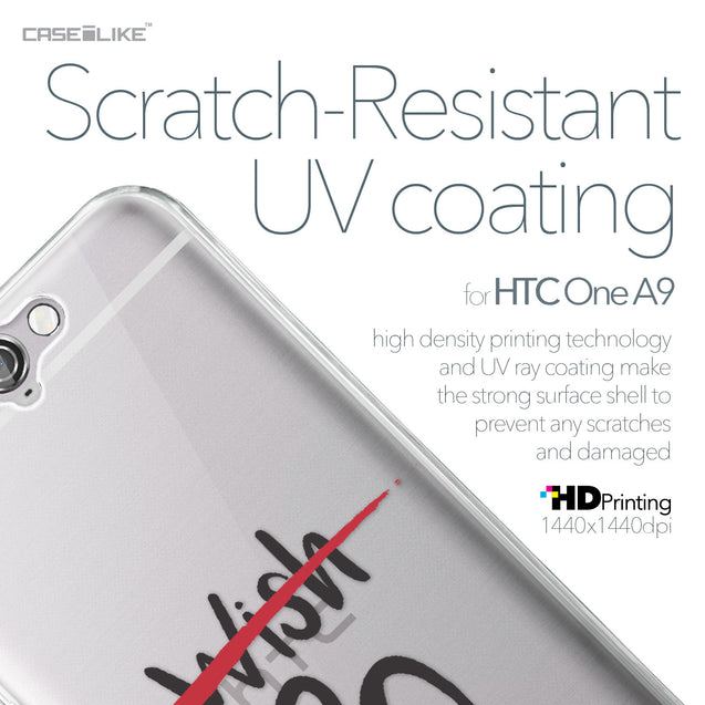 HTC One A9 case Quote 2407 with UV-Coating Scratch-Resistant Case | CASEiLIKE.com