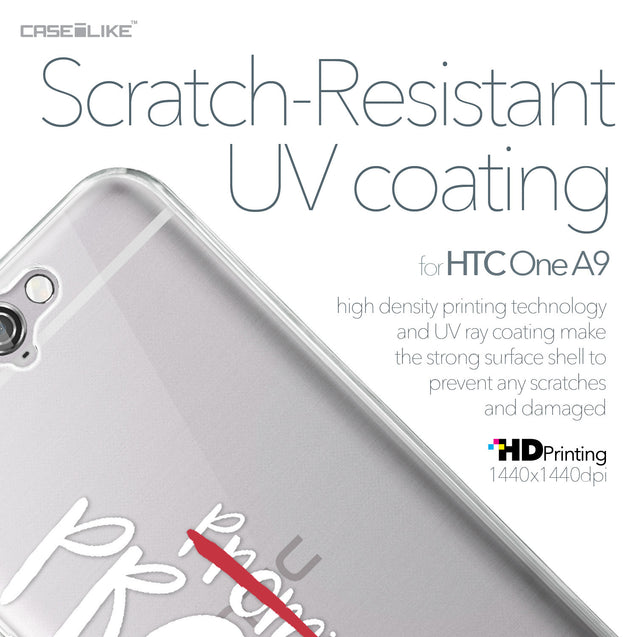 HTC One A9 case Quote 2409 with UV-Coating Scratch-Resistant Case | CASEiLIKE.com
