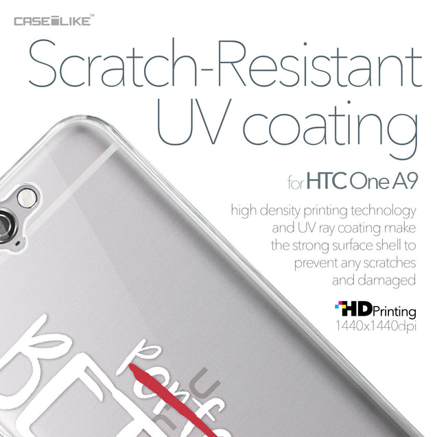 HTC One A9 case Quote 2410 with UV-Coating Scratch-Resistant Case | CASEiLIKE.com