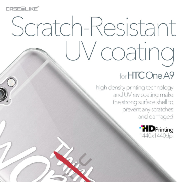 HTC One A9 case Quote 2411 with UV-Coating Scratch-Resistant Case | CASEiLIKE.com