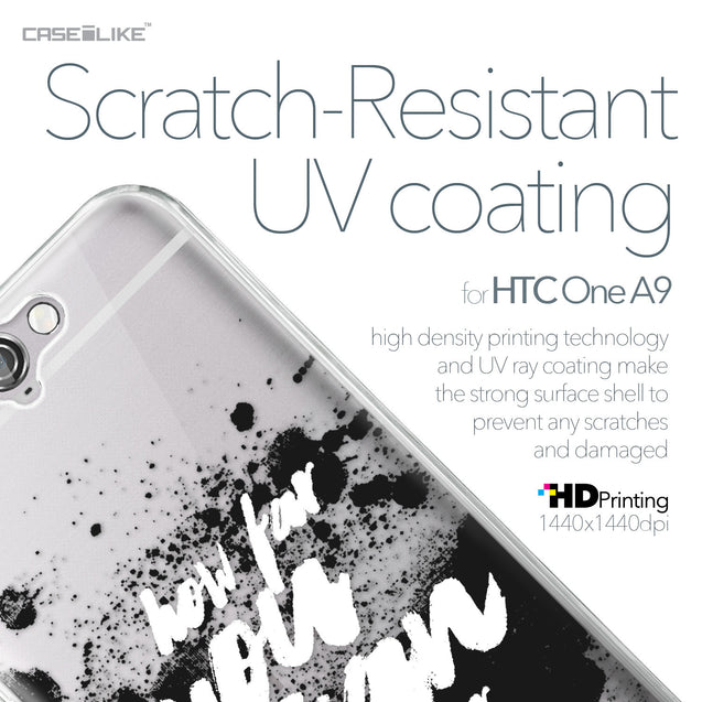 HTC One A9 case Quote 2413 with UV-Coating Scratch-Resistant Case | CASEiLIKE.com