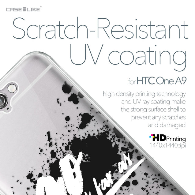 HTC One A9 case Quote 2415 with UV-Coating Scratch-Resistant Case | CASEiLIKE.com