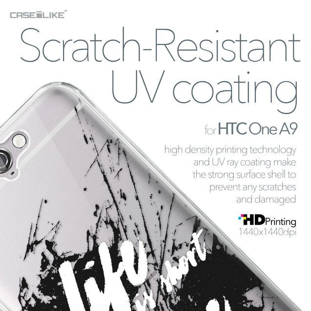 HTC One A9 case Quote 2416 with UV-Coating Scratch-Resistant Case | CASEiLIKE.com