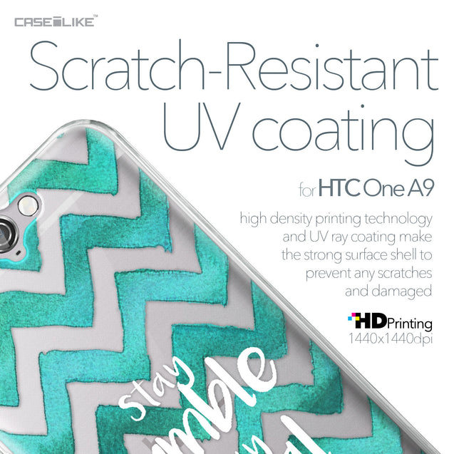 HTC One A9 case Quote 2418 with UV-Coating Scratch-Resistant Case | CASEiLIKE.com