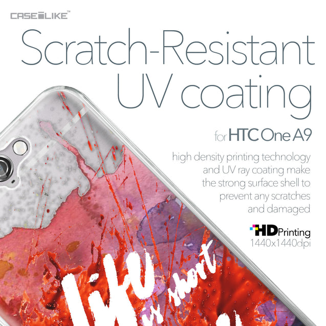HTC One A9 case Quote 2423 with UV-Coating Scratch-Resistant Case | CASEiLIKE.com