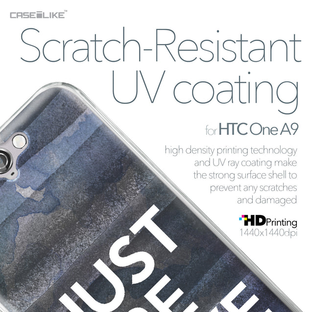 HTC One A9 case Quote 2430 with UV-Coating Scratch-Resistant Case | CASEiLIKE.com
