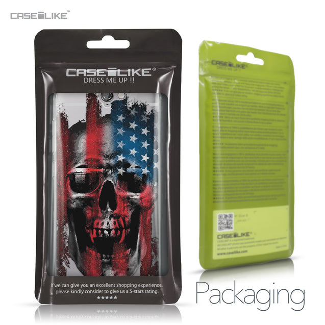HTC One A9 case Art of Skull 2532 Retail Packaging | CASEiLIKE.com