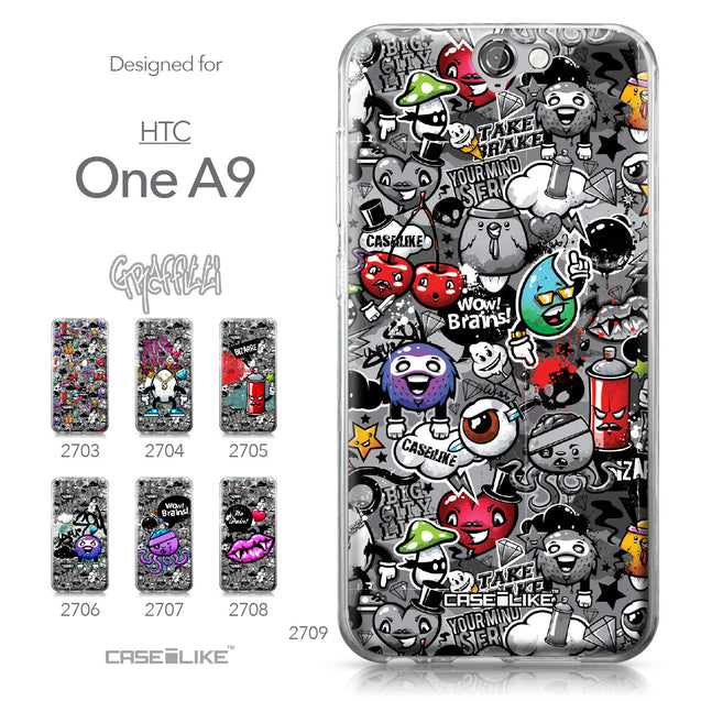 HTC One A9 case Graffiti 2709 Collection | CASEiLIKE.com