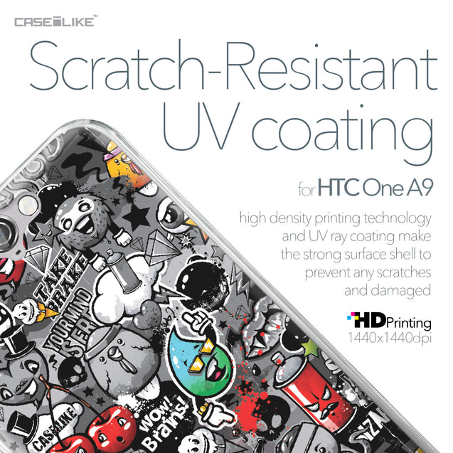 HTC One A9 case Graffiti 2709 with UV-Coating Scratch-Resistant Case | CASEiLIKE.com