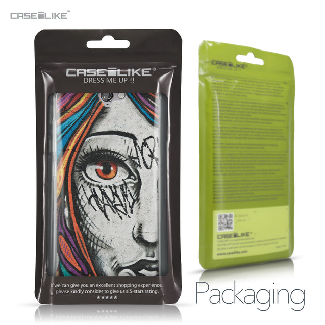 HTC One A9 case Graffiti Girl 2724 Retail Packaging | CASEiLIKE.com