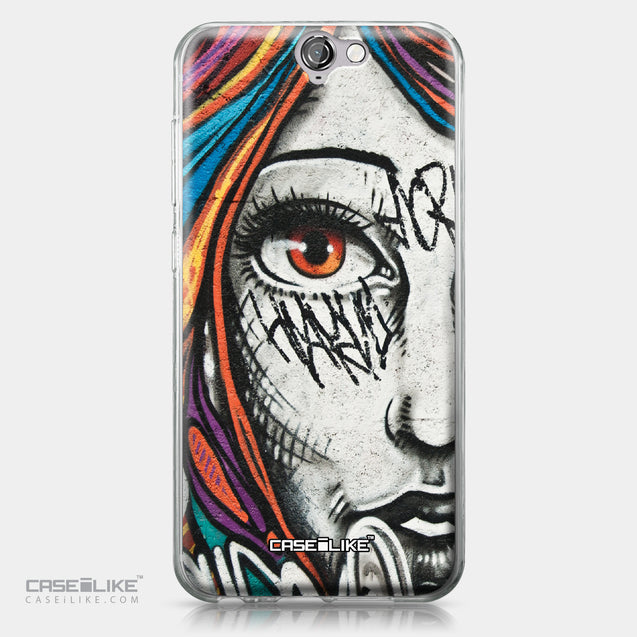 HTC One A9 case Graffiti Girl 2724 | CASEiLIKE.com